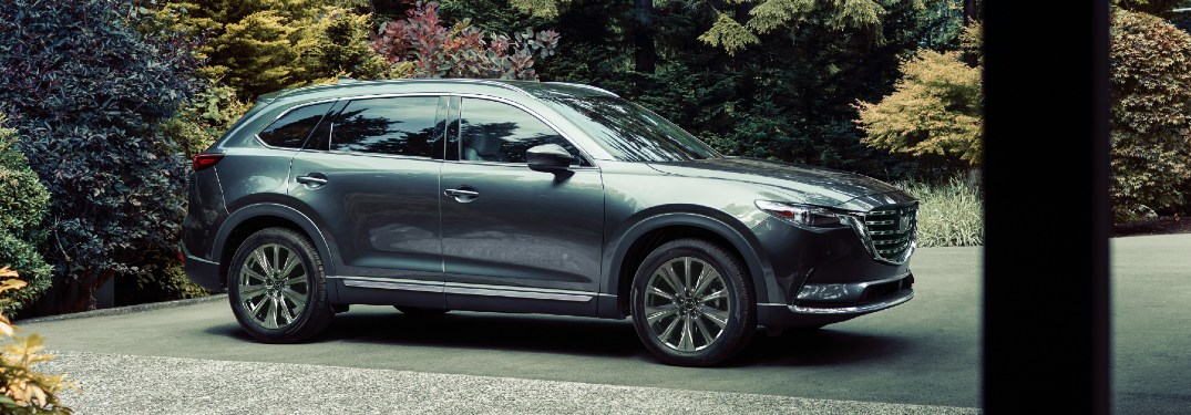 2021 CX-9 exterior side profile