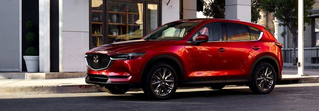 Are Android Auto and Apple CarPlay standard on the 2021 Mazda CX-5?