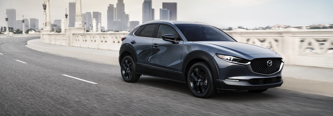 How much horsepower does the 2021 Mazda CX-30 have?