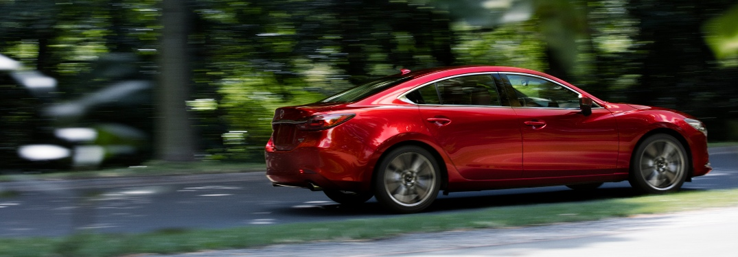 How big is the 2021 Mazda6 trunk?
