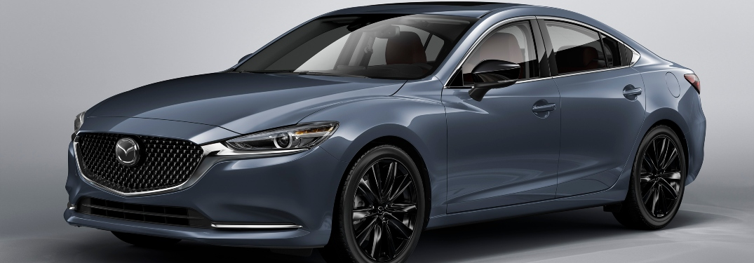Does the 2021 Mazda6 Carbon Edition have a turbocharged engine?