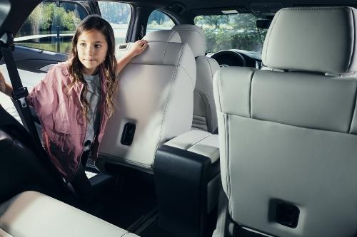 2021 CX-9 rear seating showcase