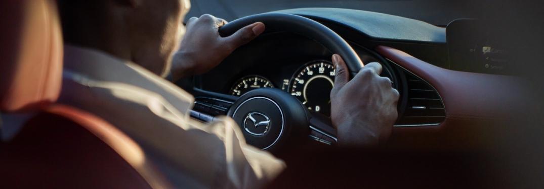 2021 Mazda3 cockpit showcase