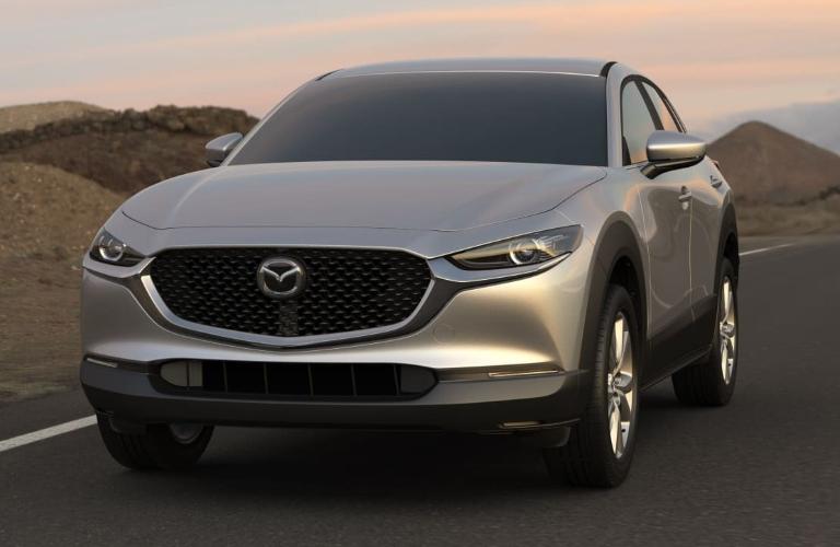 2021 CX-30 sonic silver