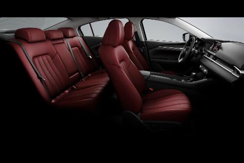 2021 Mazda6 full cabin