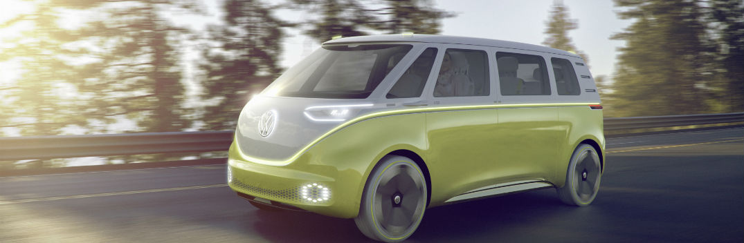 All-New I.D. Buzz Concept Makes its World Debut