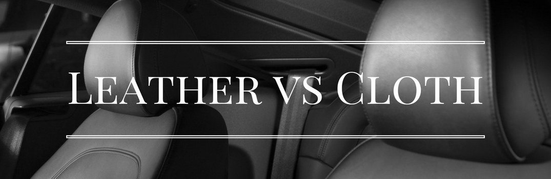 leather vs cloth