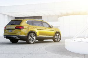 2018 vw atlas all-new suv exterior design color