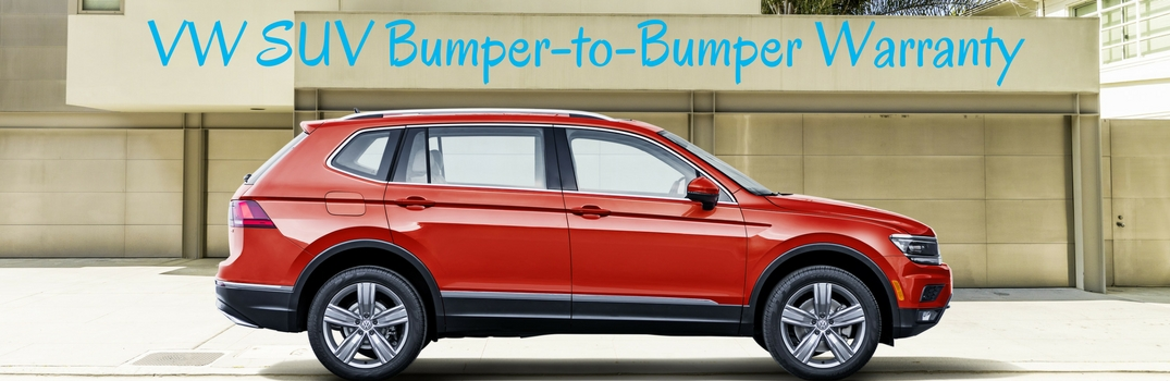 VW suv bumper to bumper warranty 2018 atlas and 2018 tiguan
