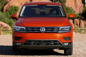 2018 vw tiguan exterior front grille headlights