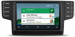 android auto navigation on the 2018 Atlas touchscreen