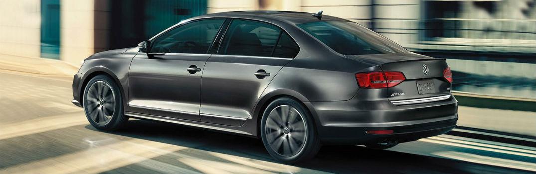 grey 2018 Volkswagen Jetta on the road