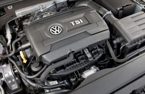 engine for the 2018 VW Golf