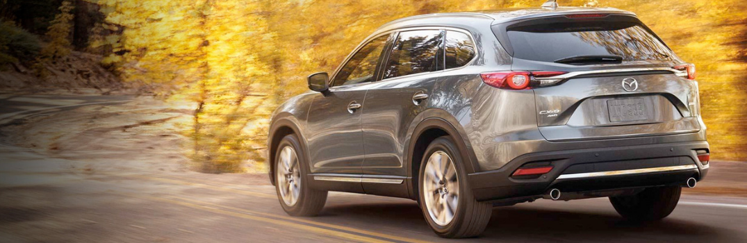 2019 CX-9 on the road