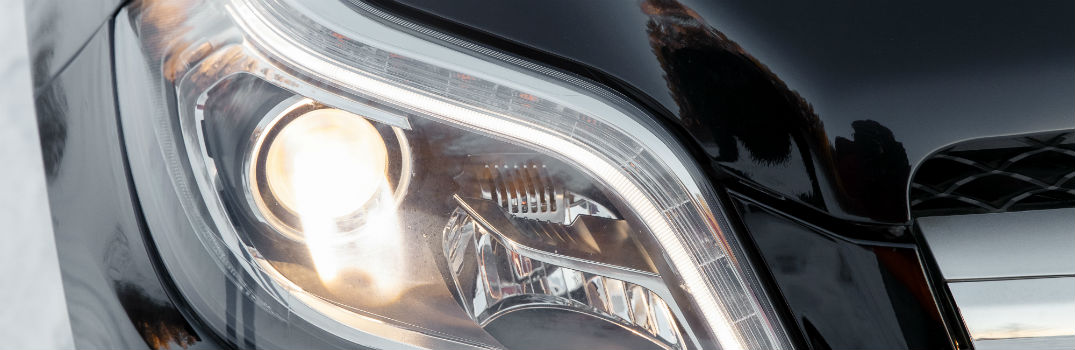 generic headlight in a vehicle