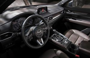 front interior of the 2019 Mazda CX-3