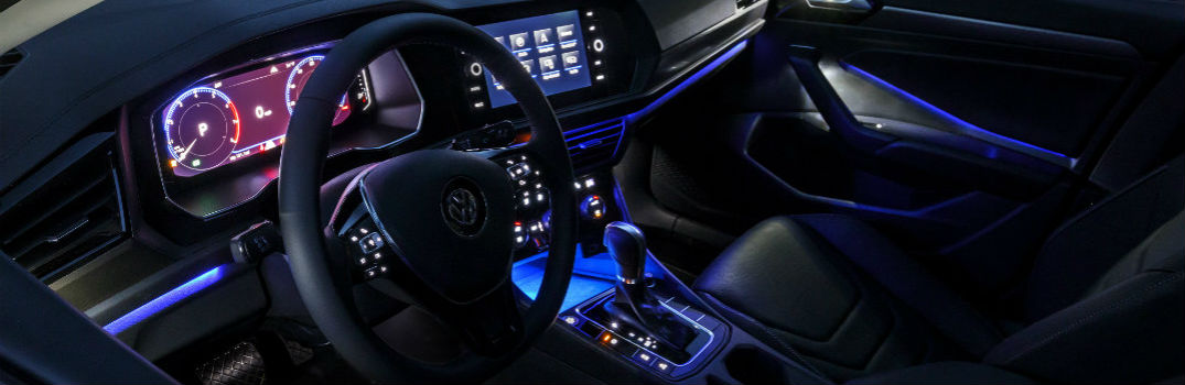 2019 Volkswagen Jetta Interior Ambient Lighting Colors