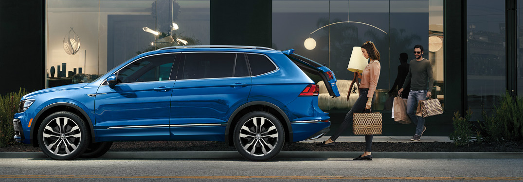 2020 Tiguan with hatch open assist