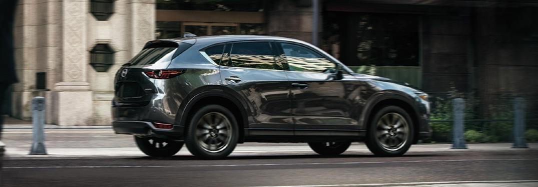 What safety features does the 2020 Mazda CX-5 have?