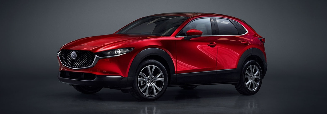 2020 CX-30 in a photo shoot