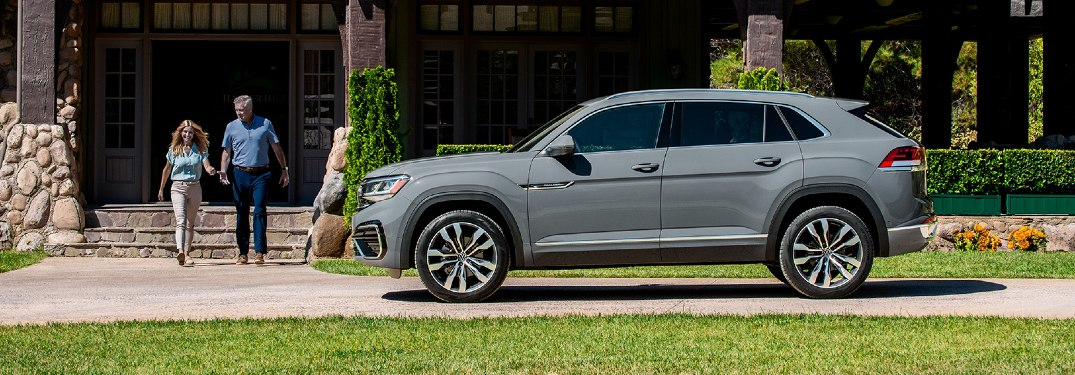 What's the difference between the VW Atlas and the VW Atlas Cross Sport?