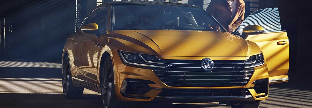 2019 VW Arteon parked in a stylish spot