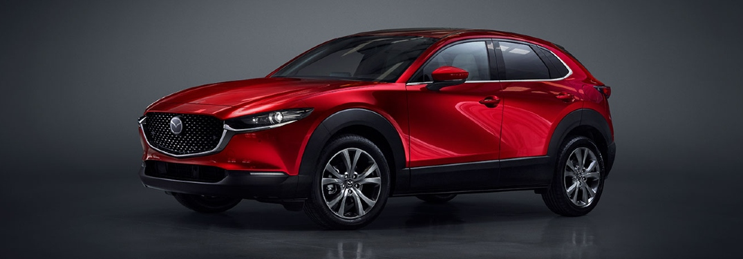 2020 CX-30 side profile