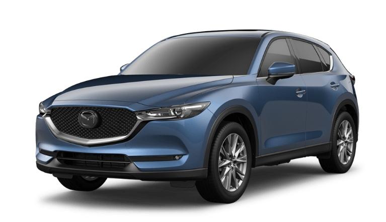 2020 CX-5 eternal blue