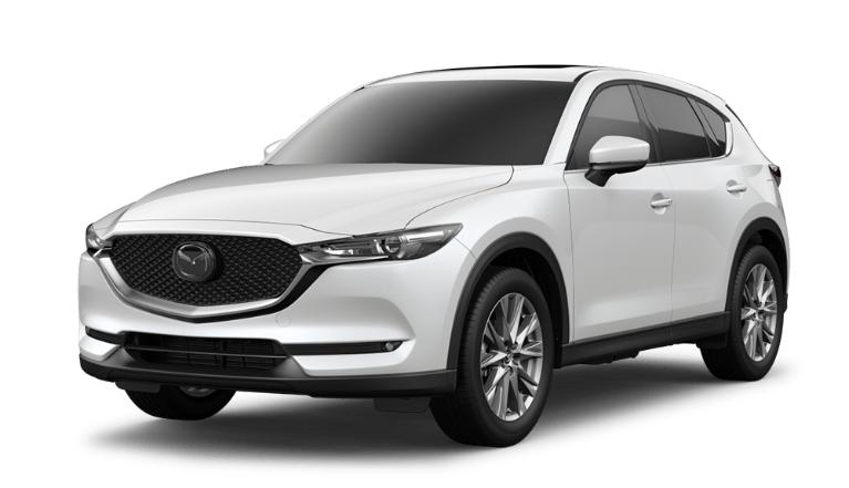 2020 CX-5 snowflake white