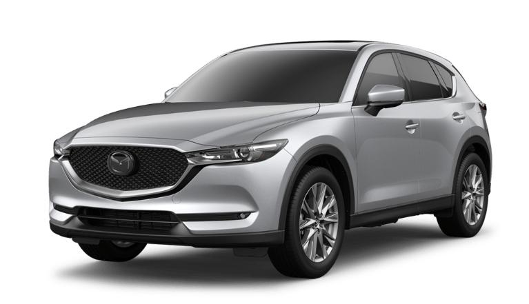 2020 CX-5 sonic silver