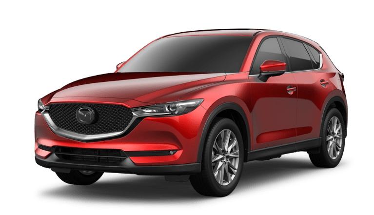 2020 CX-5 soul red