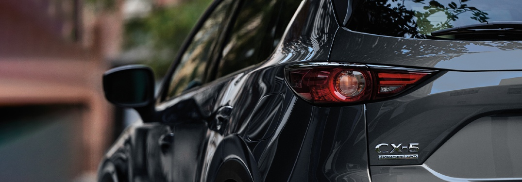 2020 CX-5 taillight close-up
