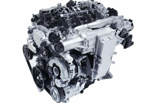 Mazda Skyactiv-X engine showcase