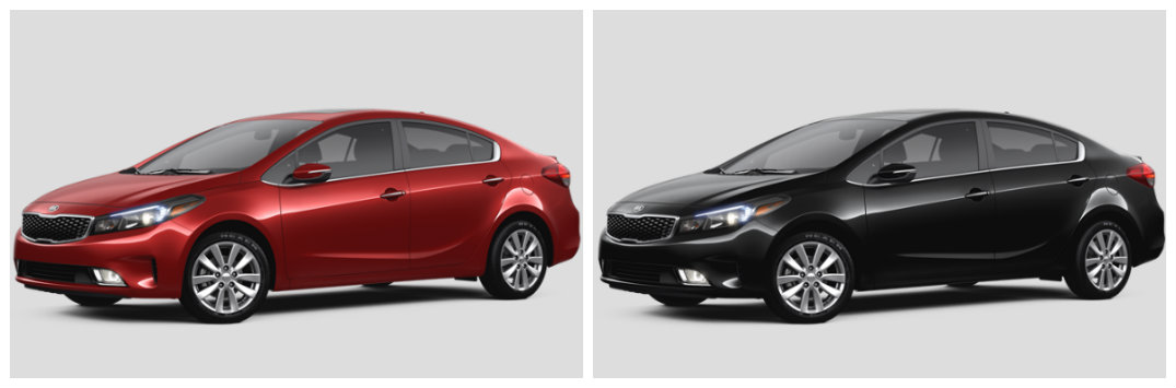 2017 kia forte exterior and interior color options lx s and ex trims. Black Bedroom Furniture Sets. Home Design Ideas