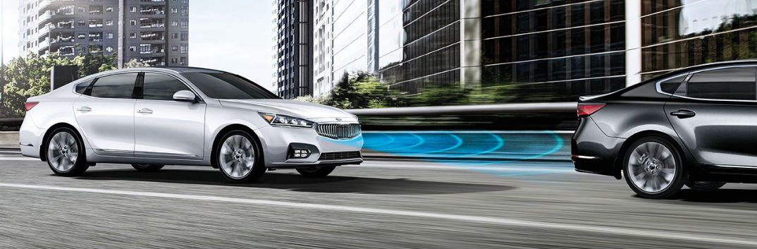 2017 Kia Cadenza safety features IIHS Top Safety Pick Advanced Smart Cruise Control