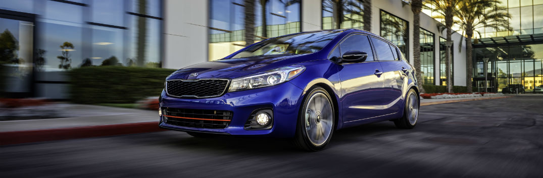 2017 Kia Forte5 hatchback cargo room performance and other benefits