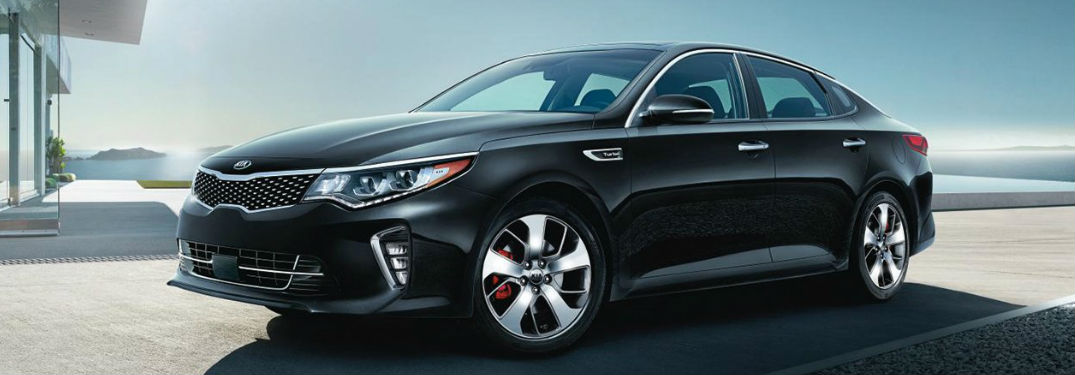 2018 Kia Optima parked showing side profile