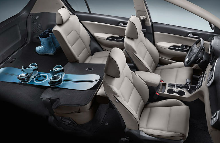 2018 Kia Sportage Passenger And Cargo Space