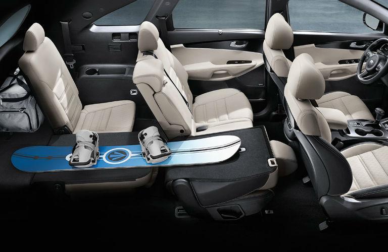 2018 Kia Sorento Interior Passenger Seats