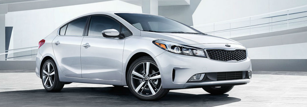 2018 Kia Forte parked showing front and side profile