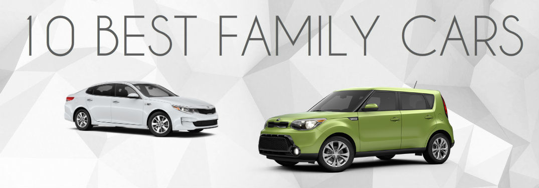 Kia awards Best family vehcile