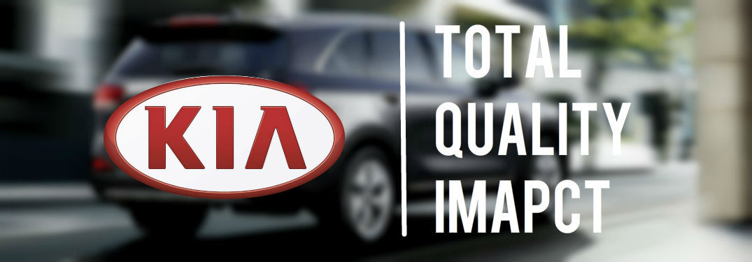 kia quality reviews total quality impact award