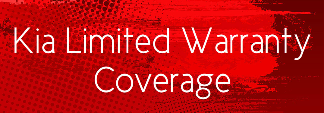 Kia Limited Warranty Coverage