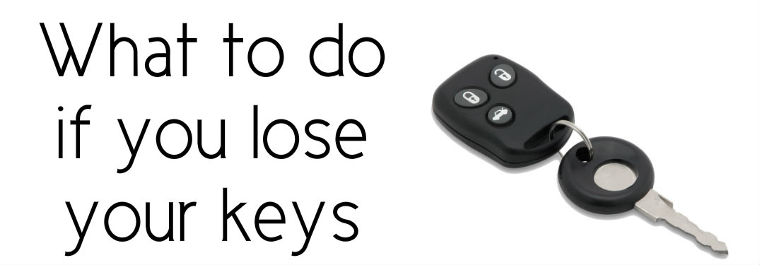 What to do if you lost the keys to your Toyota
