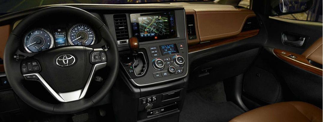 ... 2016 Toyota Sienna Interior Front Seats And Controls Great Pictures