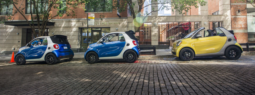 2017 smart fortwo coupe Updates