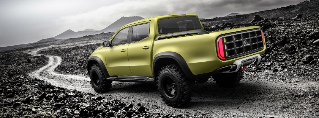 Mercedes-Benz X-Class Powerful Adventurer Interior Design