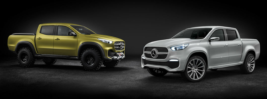 2018 Mercedes-Benz X-Class Pickup United States Release Date