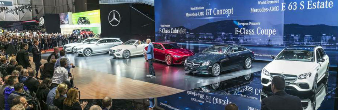 Mercedes-Benz at the 2017 Geneva Motor Show