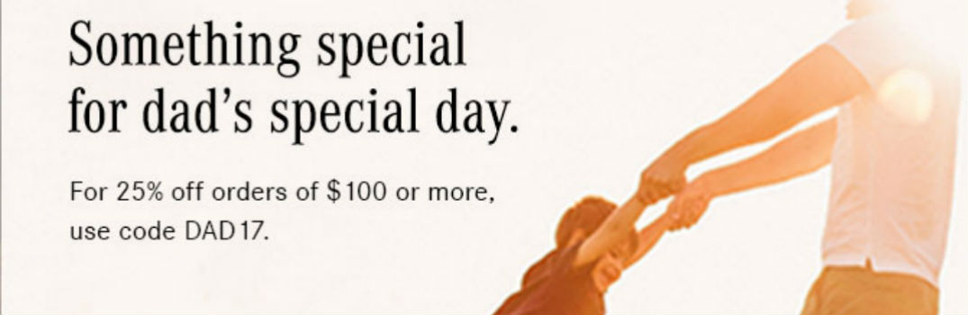 Father's Day Discount on Mercedes-Benz Gifts